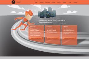 Altshift Website and Logo Design