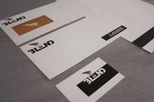 Brand Identity Design - Blend Design Wellington