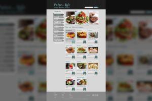 Recipe Website Design